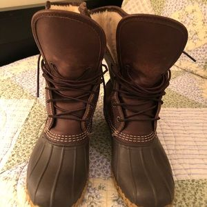 "Women's Boots by L.L.Bean®, 10"" Shearling Lined"